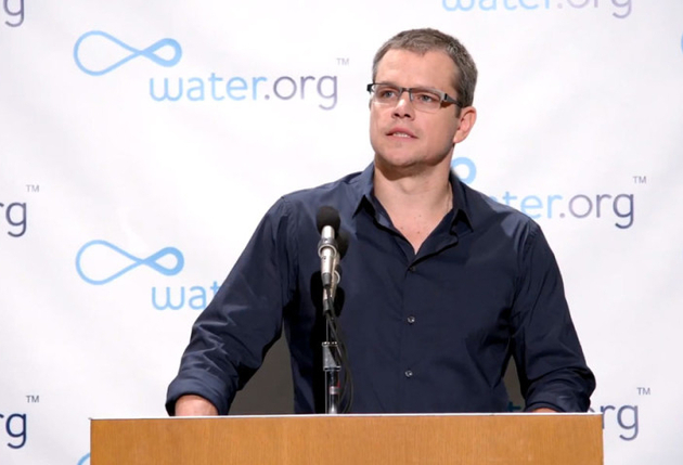 Matt Damon Charity