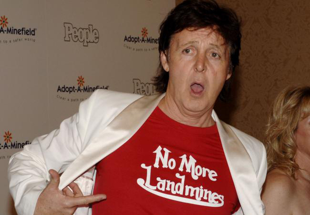 Paul Mc Cartney Charity