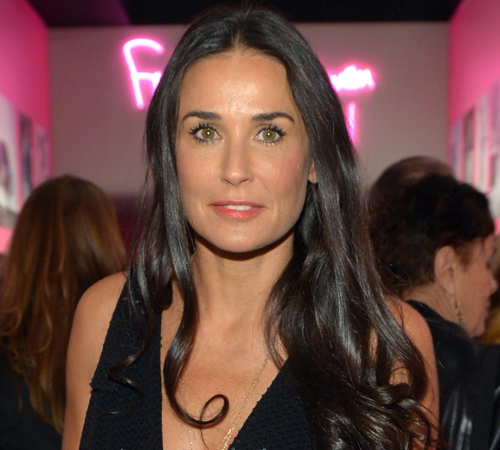 Demi Moore Growing Up Poor
