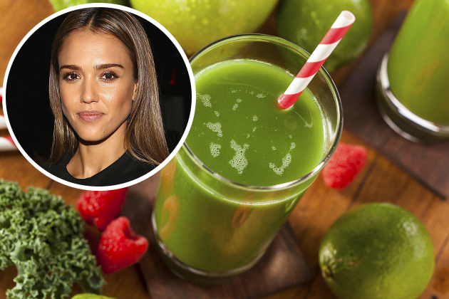 Jessica Alba Green Smoothie