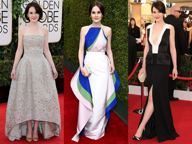 Michelle Dockery Best Celebrity Style 2014
