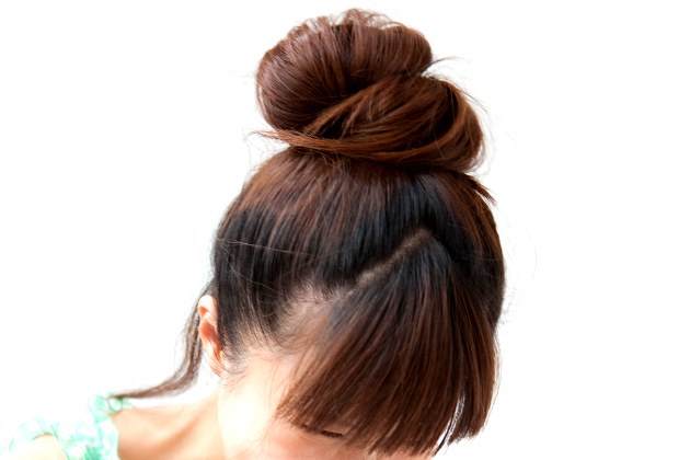 Top Knot Overnight For Texture