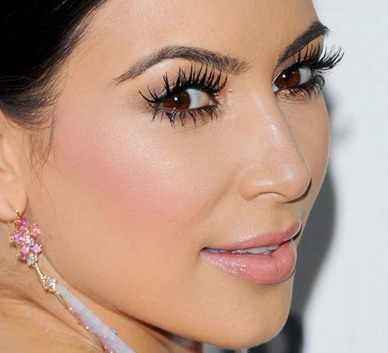 Kim Kardashian Makeup Fail
