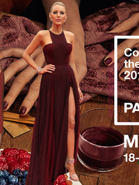 Celebrities Wearing Marsala, Pantone's 2015 Color of the Year