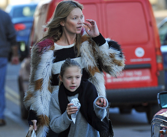 Kate Moss Loves Baking