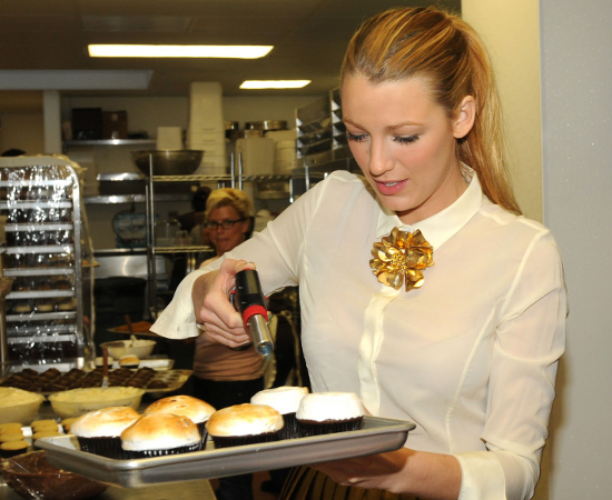 Blake Lively Loves Baking