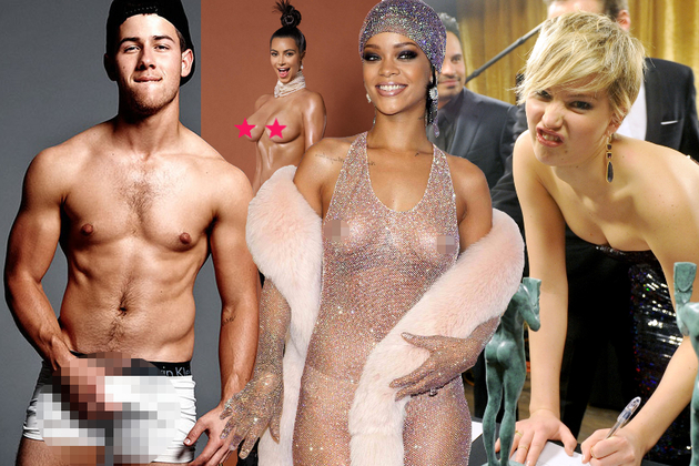 Most Outrageous Celebrity Moments of 2014