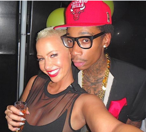 Amber Rose And Wiz Khalifa Breakup