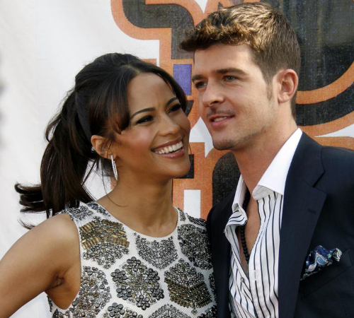 Robin Thicke And Paula Patton Breakup