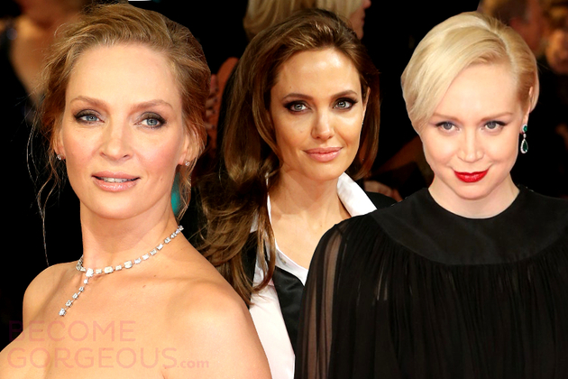 BAFTA Awards 2014 - Celebrity Hairstyles