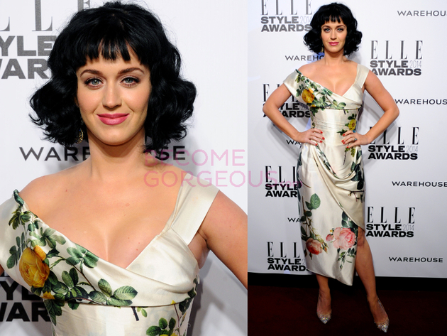 Katy Perry Elle Style Awards 2014