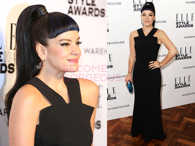 Lily Allen Elle Style Awards 2014