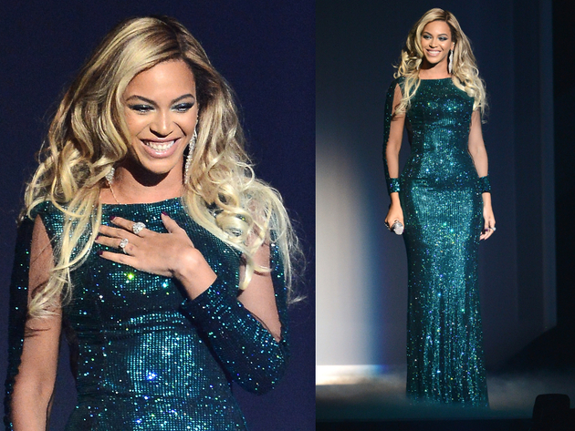 Beyonce Brit Awards 2014