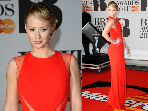 Iggy Azalea Brit Awards 2014