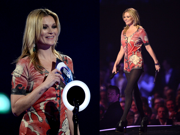 Kate Moss Brit Awards 2014