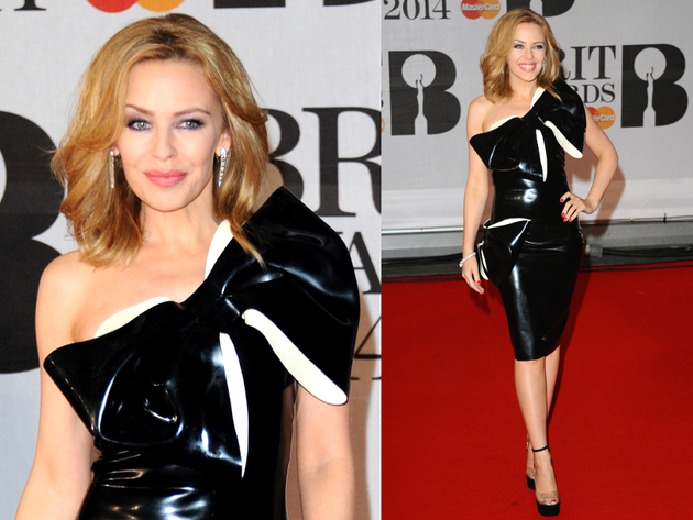 Kylie Minogue Brit Awards 2014