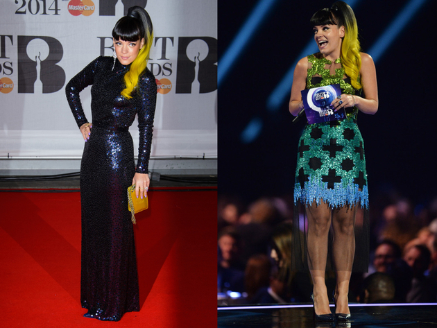 Lily Allen Brit Awards 2014