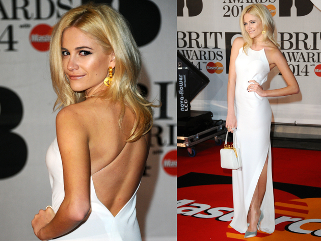 Pixie Lott Brit Awards 2014
