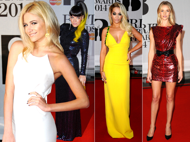 Best Dressed at the Brit Awards 2014