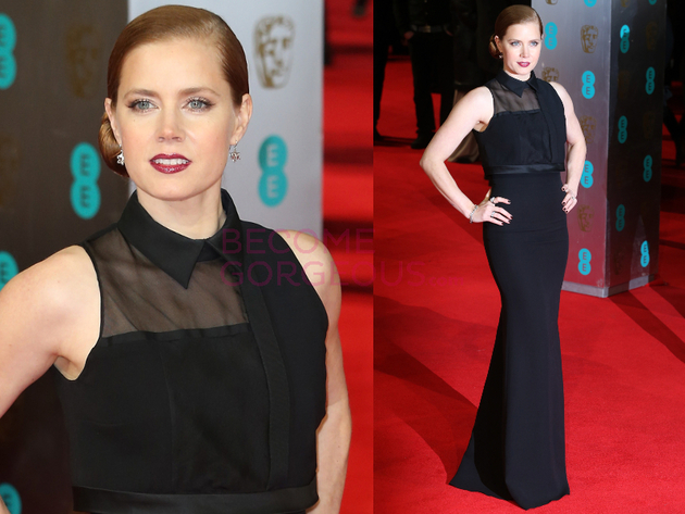 Amy Adams 2014 Bafta Red Carpet