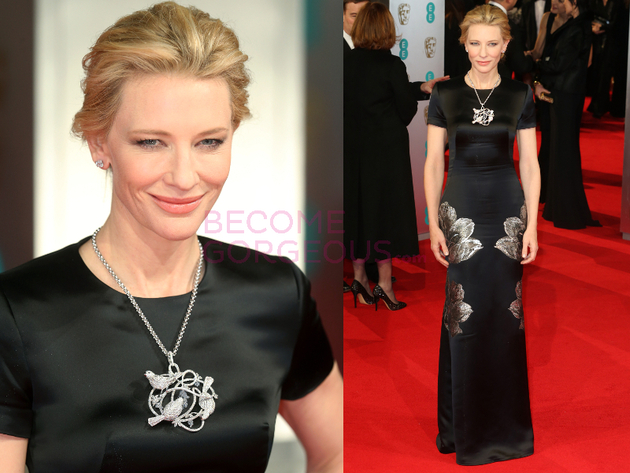 Cate Blanchett 2014 Bafta Red Carpet
