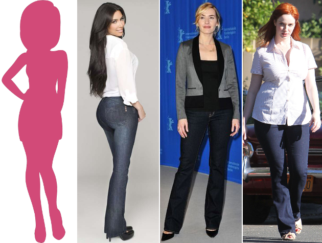 Jeans For Hourglass Body Type
