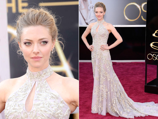 Amanda Seyfried Oscar Dress 2013