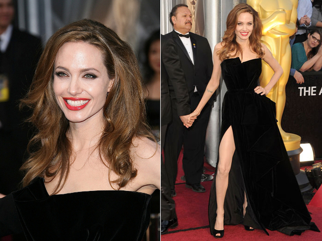Angelina Jolie Oscar Dress 2012