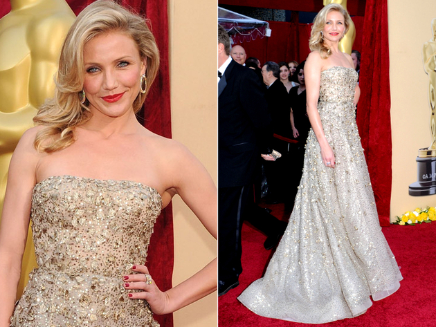 Cameron Diaz Oscar Dress 2010