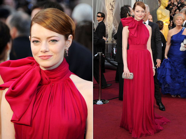 Emma Stone Oscar Dress 2012