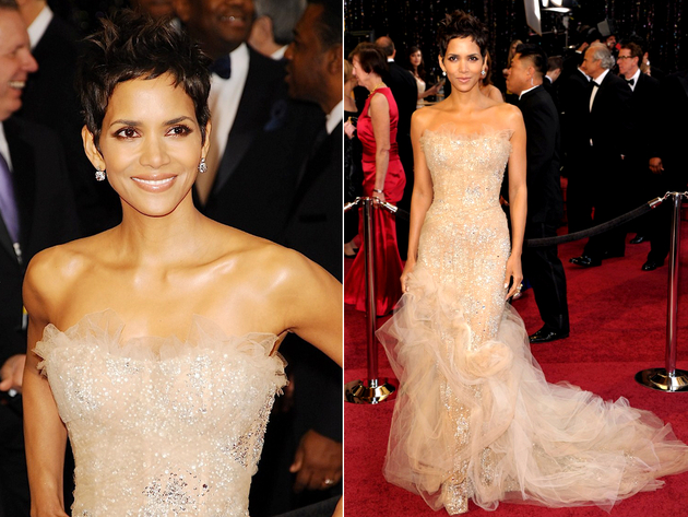 Halle Berry Oscar Dress 2011