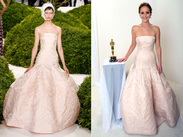Best Oscar Dresses 2010-2013