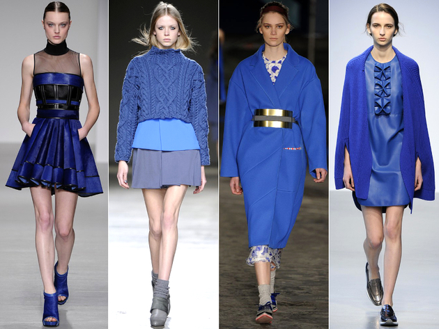 Blue Color Fall 2014 Trends