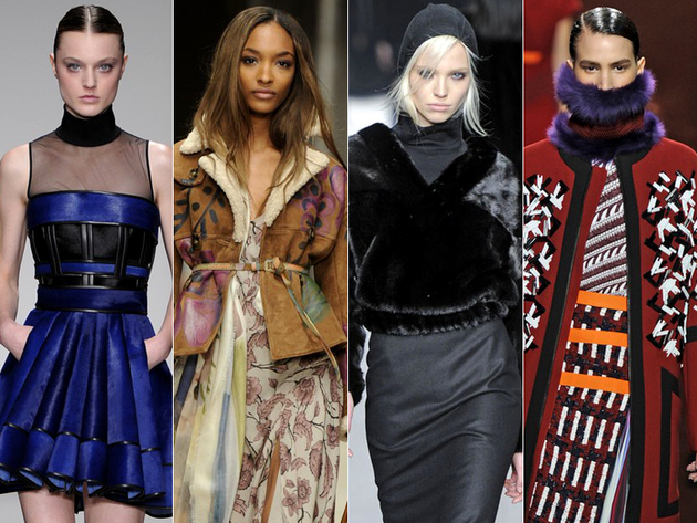 Best Trends from London Fashion Week AW14