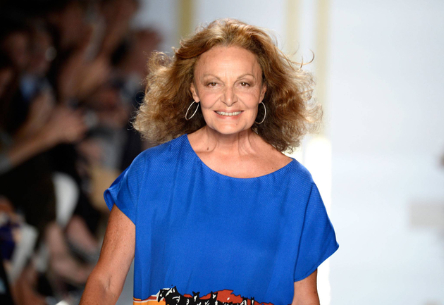 Diane Von Furstenberg Fashion Week Accident