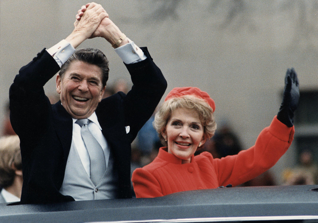 Nancy Reagan Getting Free Designer Clothes