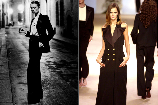 Ralph Lauren Copies Yves Saint Laurent