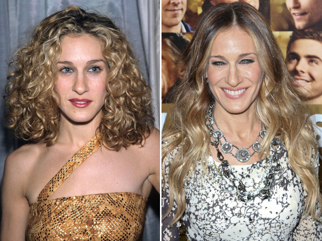 Sarah Jessica Parker Then And Now