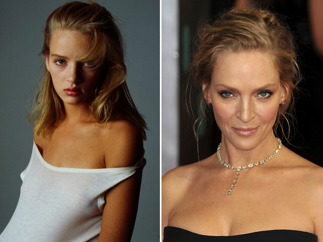 Uma Thurman Modeling Career