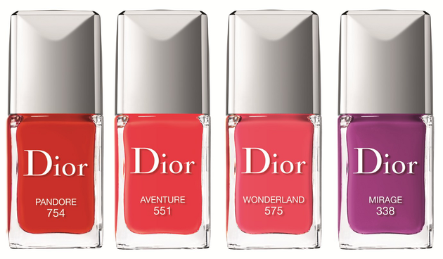 Dior Vernis Couture Effet Gel Spring 2014 Nail Polishes