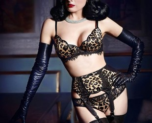 A premium lingerie collection designed by burlesque star Dita Von Teese will soon arrive at Bloomingdale's. Find out more about the star's new project.