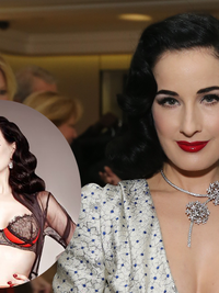 Dita Von Teese to Launch Premium Lingerie Line For Bloomingdale's