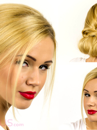 Easy Updo Hairstyle Tutorial