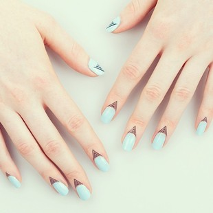 Rad Nails Faux Cuticle Tattoo