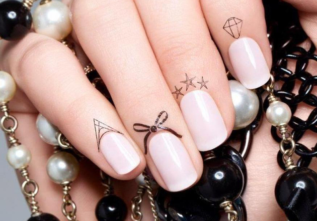 Faux Cuticle Tattoos Trend