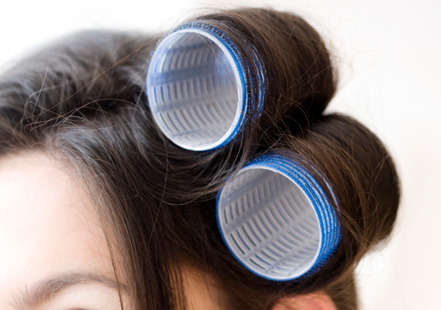 Large Hair Rollers