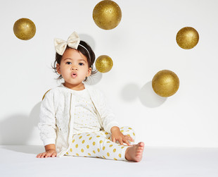 Check out the first looks from the Kardashian Kids line, set to be launched next month.