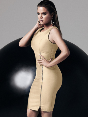 Khloe In Dress From The Kardashian Kollection For Lipsy Spring 2014