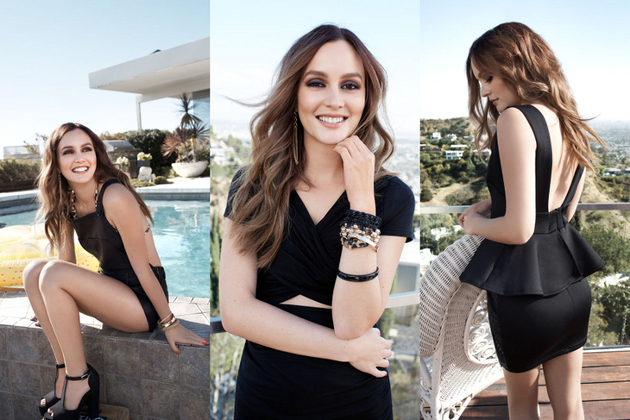 Leighton Meester Fronts the Nelly.com Spring/Summer 2014 Campaign