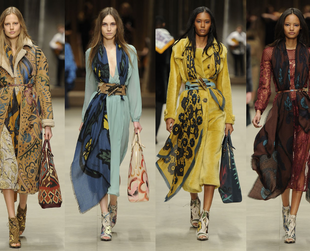 Check out the most stunning looks from the Burberry, Topshop Unique, Issa, Vivienne Westwood Red Label and Preen fall 2014 collections.